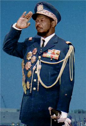 Bokassa I of Central Africa