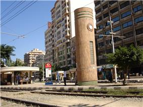 Bolkly tram station, Bolky, Alexandria