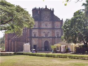 A stone church.