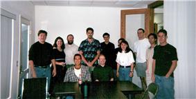 The Bomis staff, summer 2000