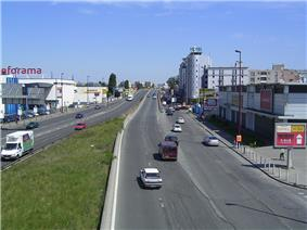 The commercial zone of Bondy on the N3 road