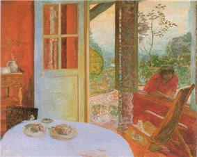 Bonnard-the dining room in the country.jpg