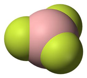 Boron trifluoride in 3D
