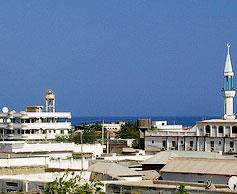 Overview of Bosaso.
