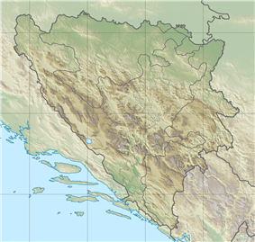 Romanija is located in Bosnia and Herzegovina