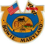 Official seal of Bowie, Maryland