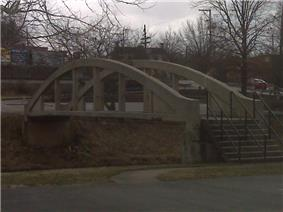 Bridgeport Lamp Chimney Company Bowstring Concrete Arch Bridge
