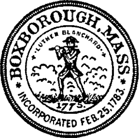 Official seal of Boxborough, Massachusetts