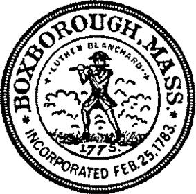 Official seal of Boxborough, Massachusetts