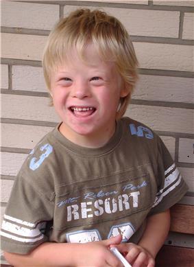 An eight-year-old boy