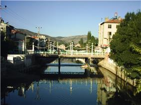 A scene from Bozkır