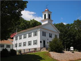 Bozrah Congregational Church and Parsonage