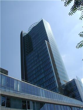 NBS Office Tower in Bratislava