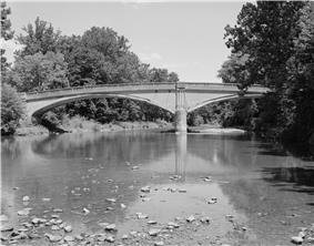Bridge between Monroe and Penn Townships