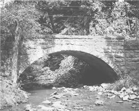 Bridge in Jenner Township