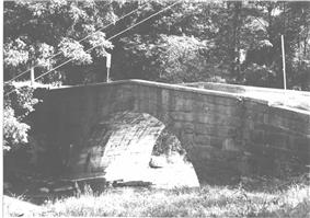 Bridge in West Wheatfield Township