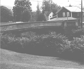 Bridge in Westover Borough