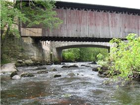 Hopkinton Railroad Covered Bridge