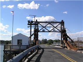 Brielle Road Bridge over the Glimmer Glass
