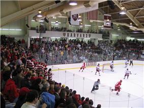 Inside Bright Hockey Center