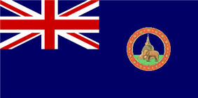 Flag of British Ceylon