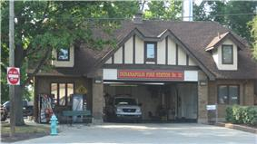 Broad Ripple Firehouse-Indianapolis Fire Department Station 32
