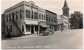 Hillsdale Downtown Historic District