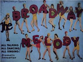 Movie poster featuring fifteen young women in dance outfits. The first appears to hold the word