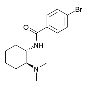 Chemical structure of Bromadoline.