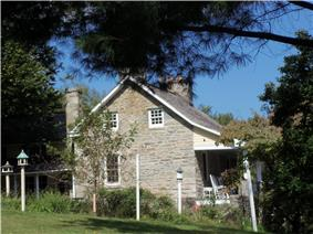 Brookeville Woolen Mill and House