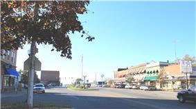 Main Street downtown area