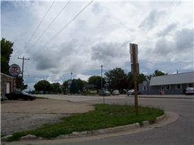Looking east at Brussels on WIS 57