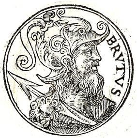 Brutus, the mythological founder of London