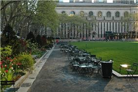 New York Public Library and Bryant Park
