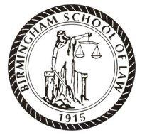 Seal of the Birmingham School of Law