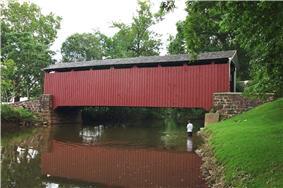 Butcher's Mill Covered Bridge