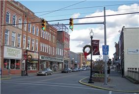 East Main Street in Buckhannon in 2006