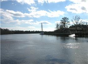 Along the Intracoastal Waterway at Bucksport