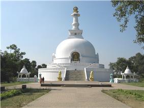 Budha Stupa in Vaishali.