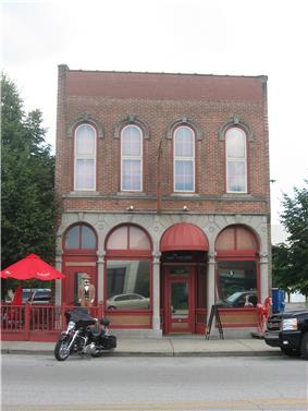 Building at 810 Wabash Avenue