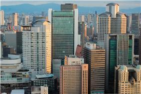 The Umeda skyline