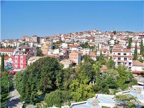 Skyline of Sandanski