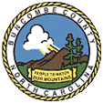 Seal of Buncombe County, North Carolina