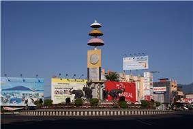 Adipura Monument in Bandar Lampung