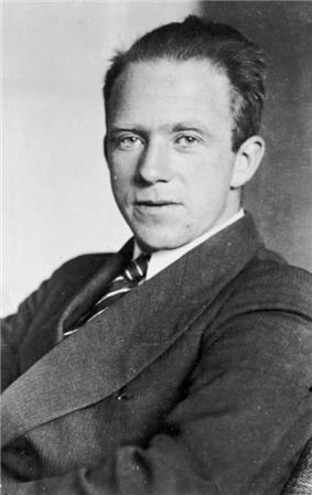 German theoretical physicist and pioneer of quantum mechanics Werner Heisenberg