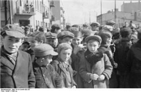 Jewish children, the Ghetto