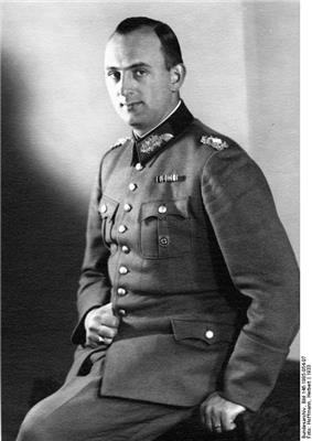 black and white portrait of a man in uniform