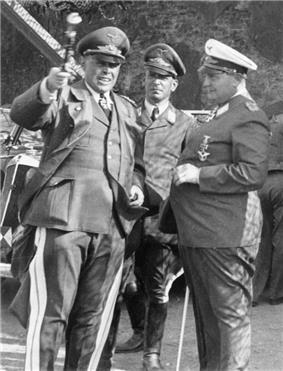 Kesselring holds his Generalfeldmarschalls baton