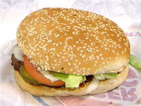 The Whopper sandwich, Burger King's signature product