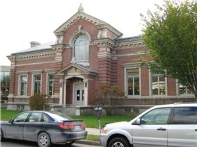 Carnegie Building of the Fletcher Free Library